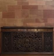 Bronze radiator case