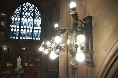 Historic Reading Room: Light Fitting