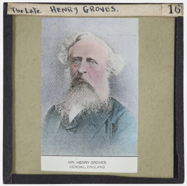 The Late Henry Groves