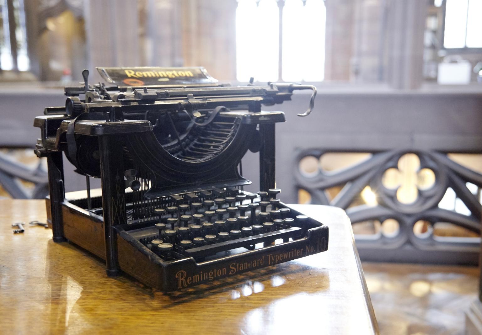Remington Typewriter, Standard no.10