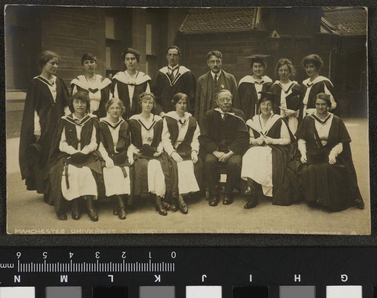 Manchester University, History 1917