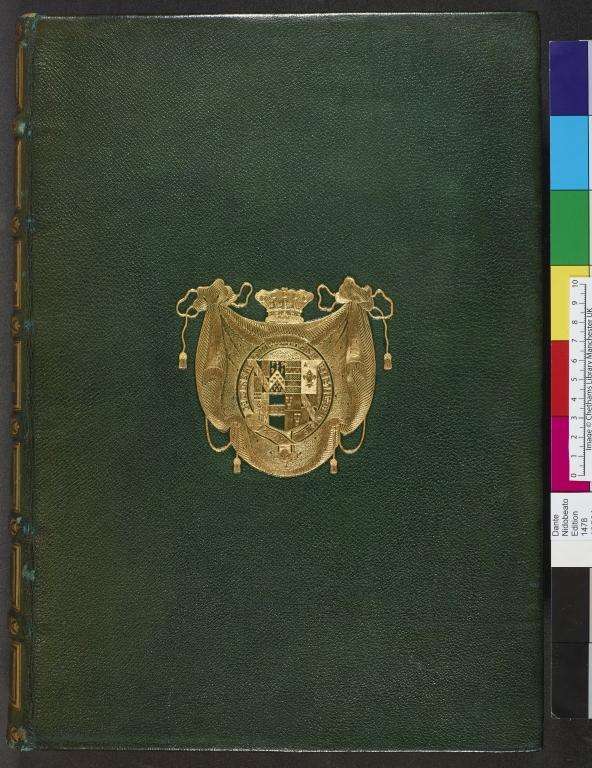 Upper cover binding