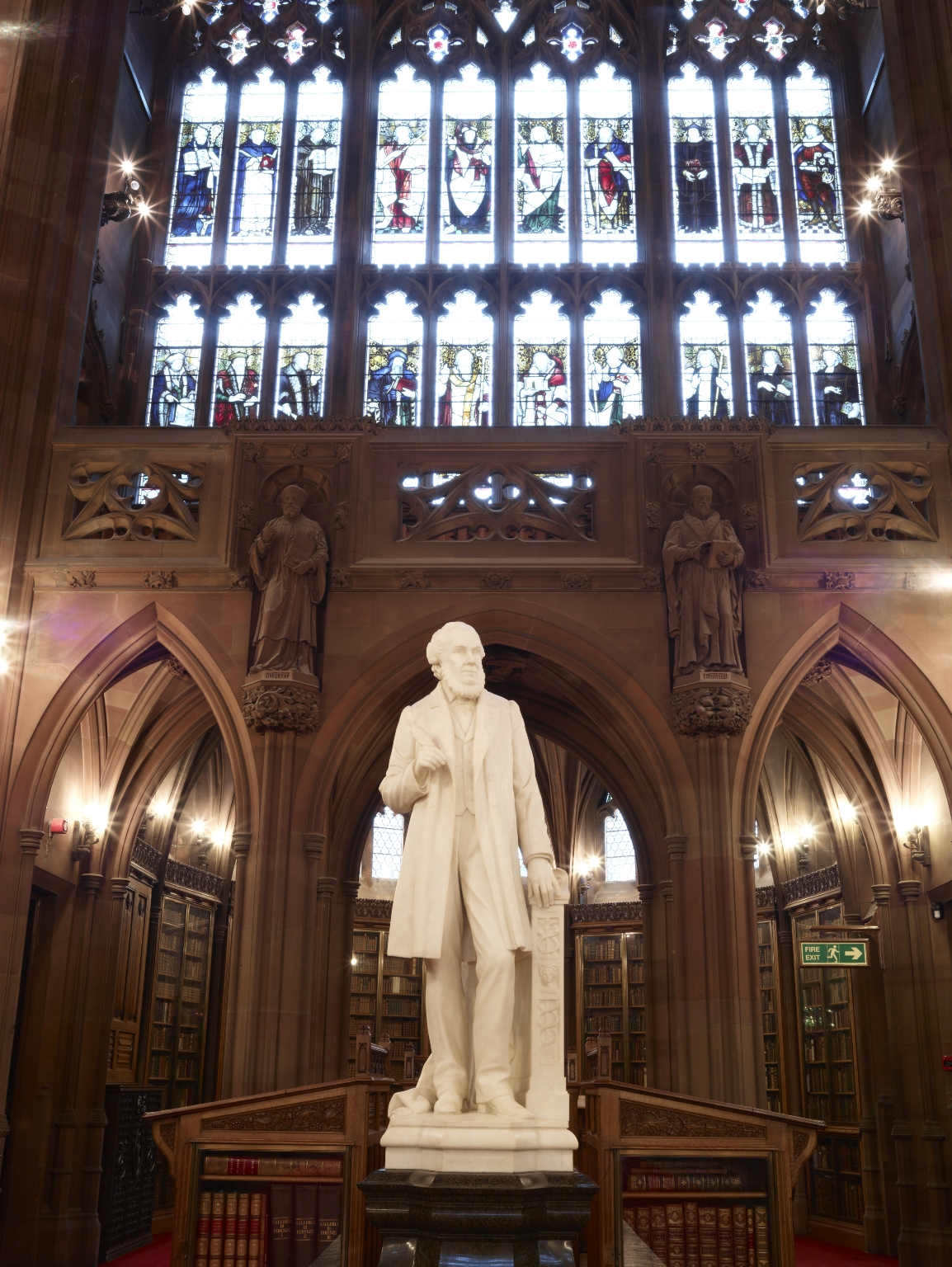 Statue of John Rylands